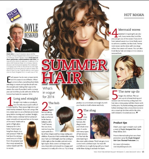 New Beauty Column by Doyle Designed with Yes! Magazine